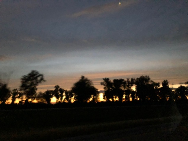 Sunset (not on the farm)