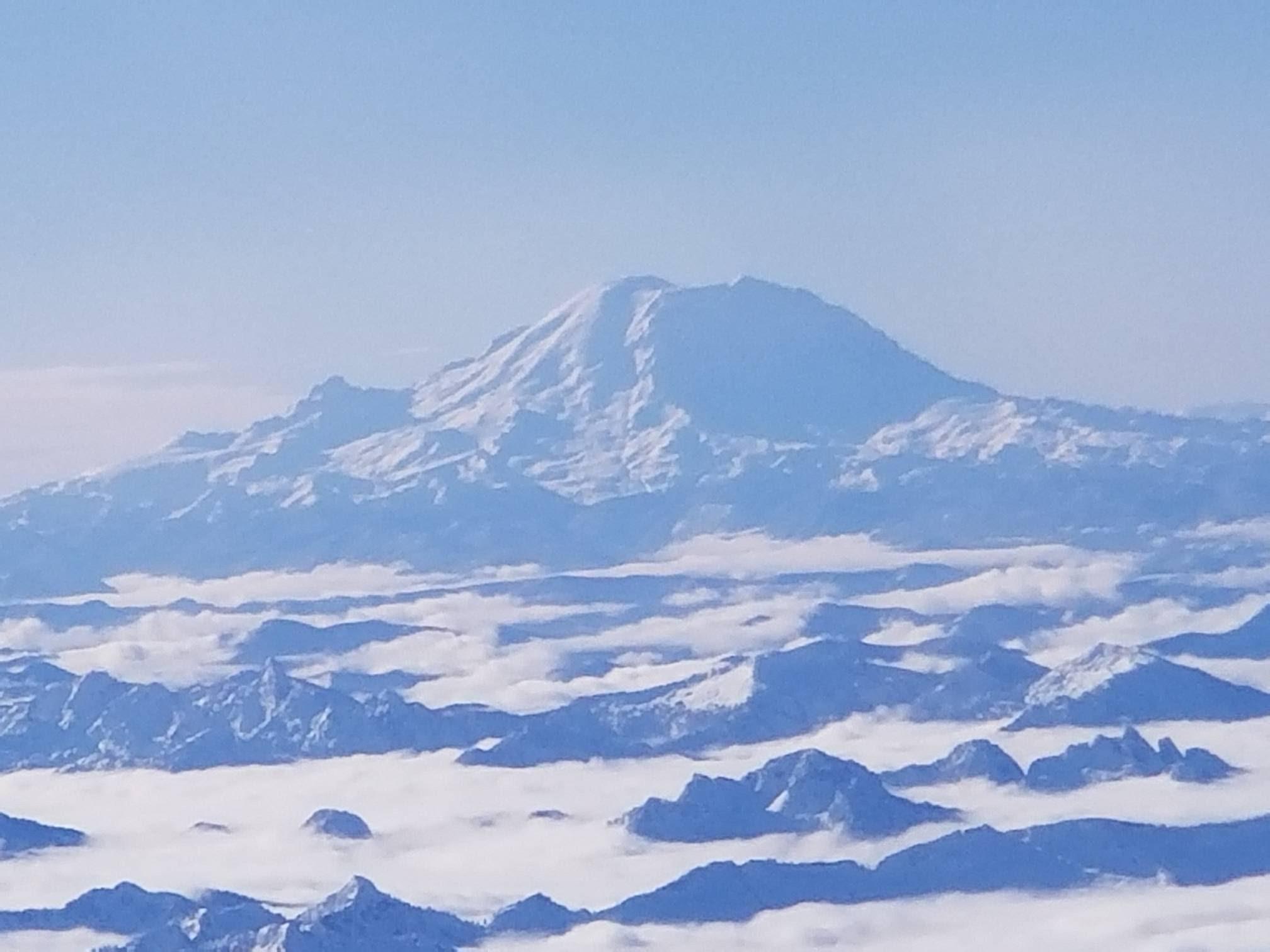 Mt Rainier Seattle